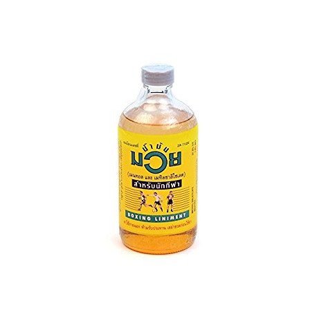 450 ml Thai Liniment Öl Namman Muay