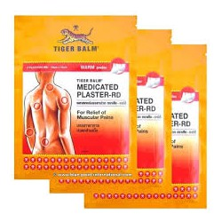 3 Tigerbalm Hot Pflaster 70x100mm